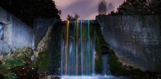 cascate di luci