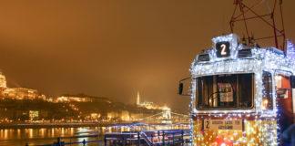 E guardo Budapest da un tram