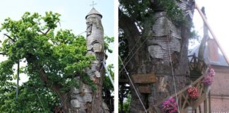 La Chene Chapelle Treehouse