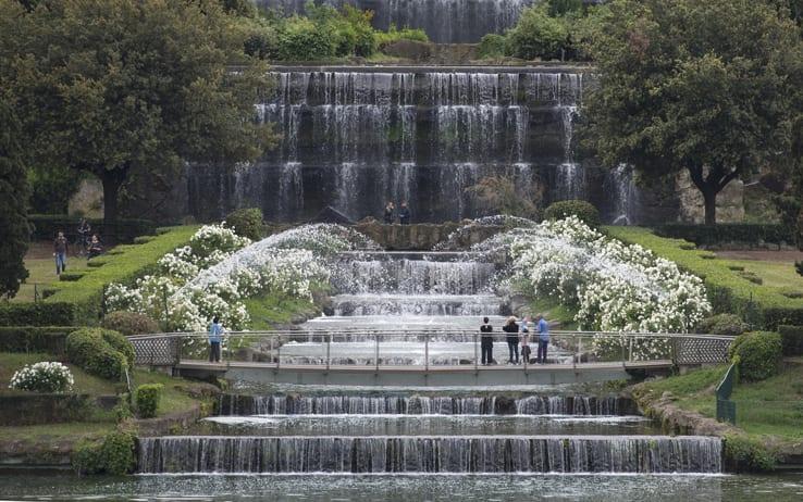 Giardino Delle Cascate Roma.Giochi D Acqua Pietre E Scogliere Conoscete Il Giardino