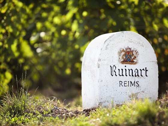 Ruinart, Bubbles and the most famous landscapes in the world
