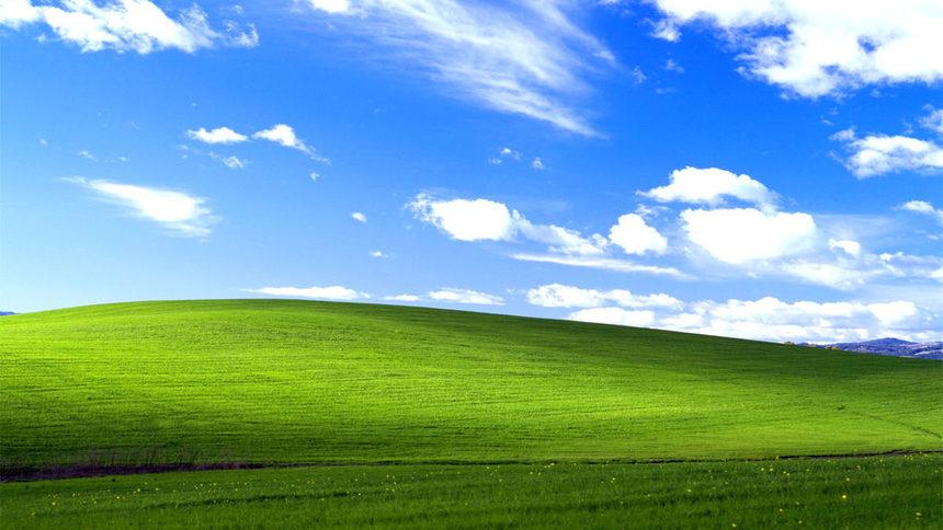 Liconica Collina Verde Sfondo Di Windows Xp Esiste Davvero Dove Si