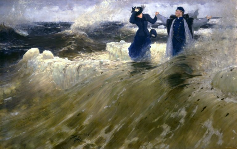 San Pietroburgo velata tra artisti disarmanti e riti ortodossi