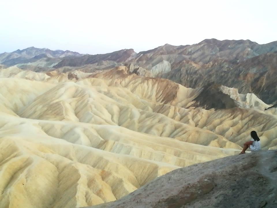 California on the road: l'alienante e sconfinata Death Valley con i suoi panorami surreali