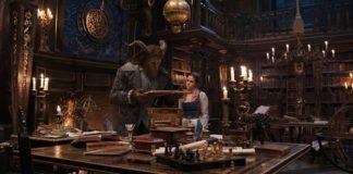 biblioteca del film la bella e la bestia