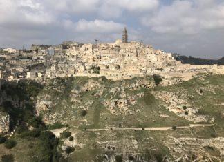 Matera vista del Belvedere del Parco Regionale della Murgia. Photo Credit: Robertoman78