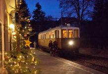treni storici dei mercatini di natale